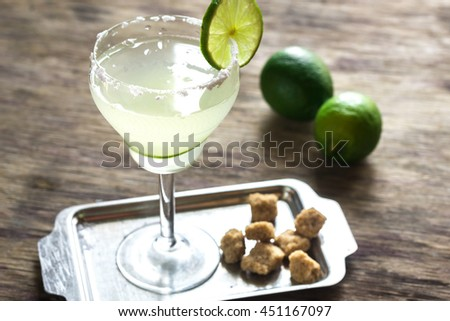Daiquiri Cocktail - stock photo
