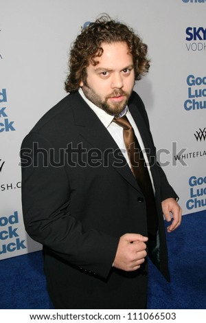 """Dan Fogler at the Los Angeles Premiere of """"Good Luck Chuck"""". Mann National Theater, Westwood, CA. 09-19-07 - stock photo"""