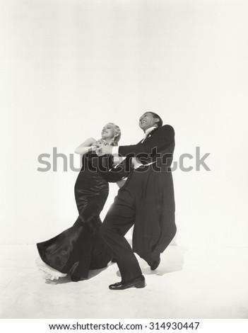 Dance partners - stock photo