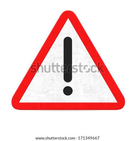 danger road sign - stock photo