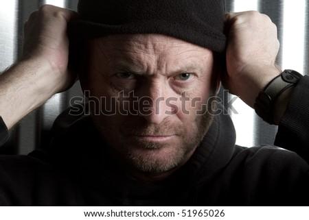 Dangerous Man - stock photo