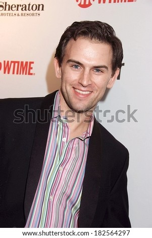 Daniel Reichard at Showtime Hosts World Premiere Screening of THE TUDORS Season 2, Sheraton New York Hotel & Towers, New York, NY, March 19, 2008 - stock photo