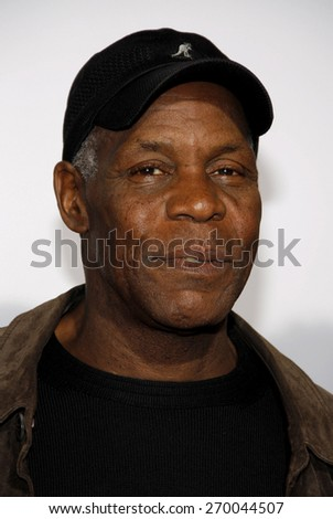 Danny Glover at the Los Angeles premiere of 'Death At A Funeral' held at the ArcLight Cinerama Dome in Hollywood on April 12, 2010. - stock photo