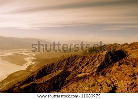 Dante's View, Death Valley - stock photo