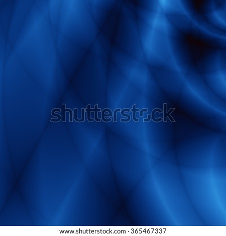 Dark abstract illustration blue storm background - stock photo
