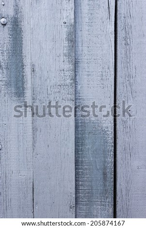 Dark and light grey painted, wooden panel, possible background use. - stock photo