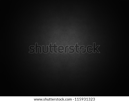 Dark black   parchment design texture background - stock photo