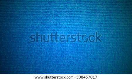 dark blue fabric textile texture for background - stock photo
