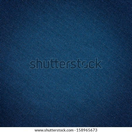 Dark blue jeans  texture. Clothes background - stock photo