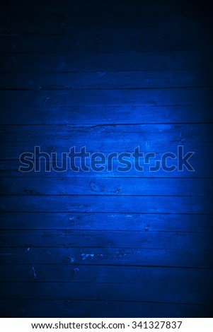 dark blue slat background - stock photo