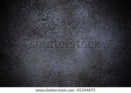 Dark blue wall background - stock photo