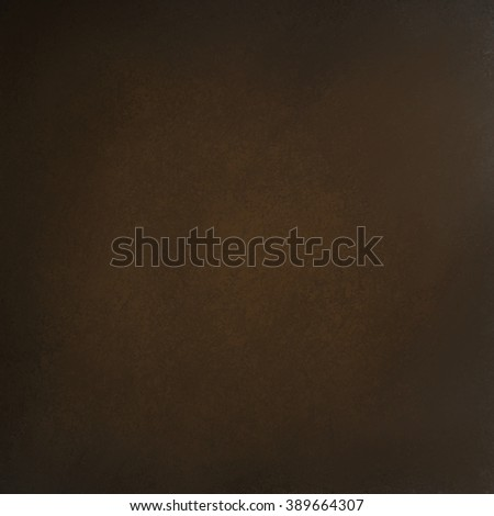 dark brown background texture with old vintage texture and black borders - stock photo