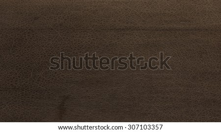 dark brown leather texture background - stock photo