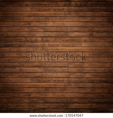 dark brown wood panels may used as background. - stock photo