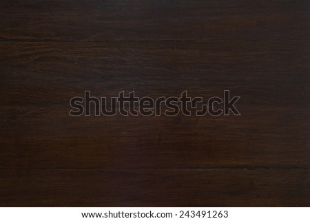 Dark brown wood texture - stock photo