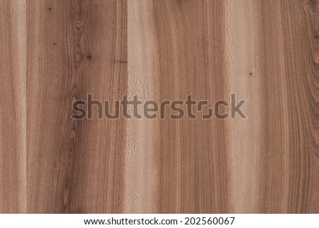 Dark Brown Wood Texture Background with Copyspace - stock photo