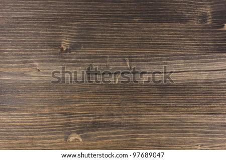 Dark brown wooden background - stock photo