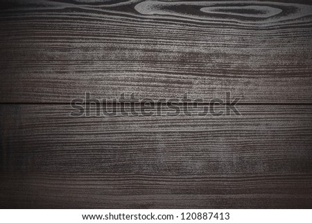 dark brown wooden background texture - stock photo