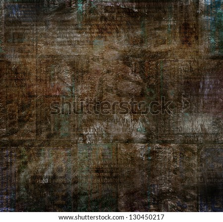 dark canvas background - stock photo