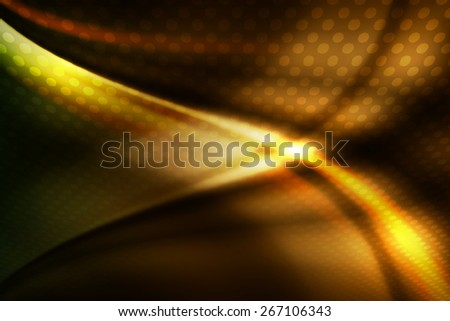 dark curve line with polka dot abstract background - stock photo