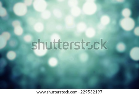 Dark Festive Christmas  lights background. Defocused Bokeh twinkling Lights Festive holiday party background with blurry special magic effect. - stock photo