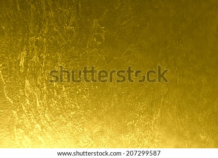 Dark gold background, linen texture with golden threads for advertisement, wrapping paper, label, greeting card, scrapbook, wedding invitation etc.  - stock photo