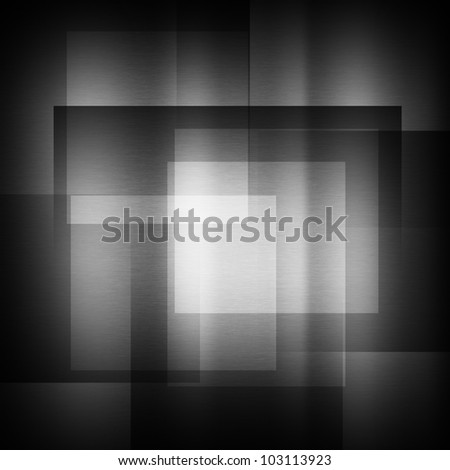 dark gray background of metal illustration - stock photo