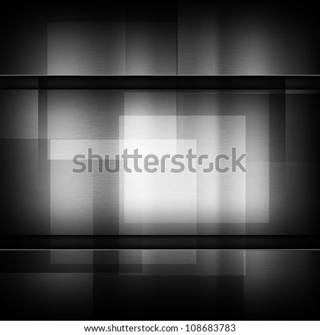 dark gray background of metal texture illustration - stock photo