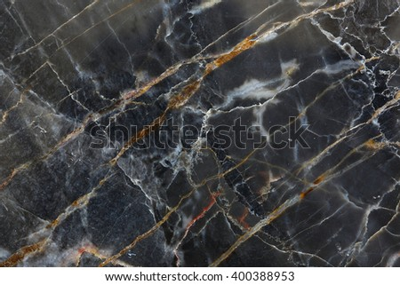 Dark gray marble pattern (Gold Russia) for design. - stock photo