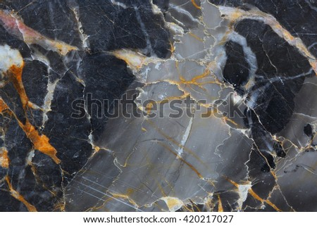 Dark gray marble patterned (natural patterns) texture background, abstract marble white for design. - stock photo