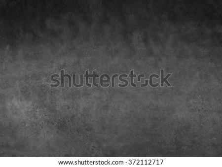 dark gray watercolor gradient - stock photo