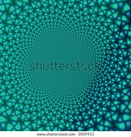 Dark-green fantasy with space for text - stock photo