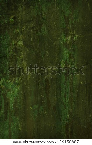 Dark Green Grunge Background. - stock photo