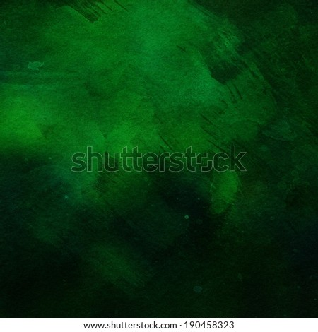 dark green grunge background texture paper - stock photo