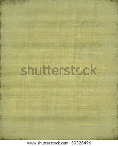 dark green Grunge bamboo background with frame - stock photo
