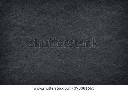 Dark grey black slate background or texture - stock photo