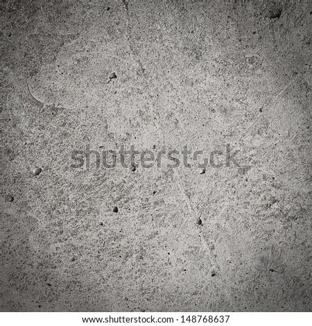 Dark grey grunge wall, concrete and cement, textured background - stock photo