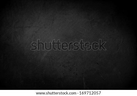 Dark grunge texture background with spotlight - Black wall. Grunge table, scratched backdrop. - stock photo