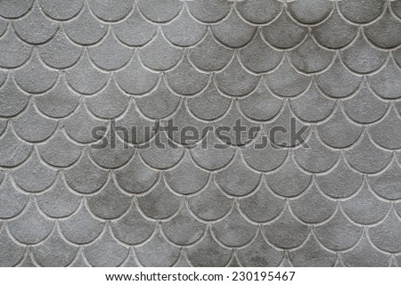 Dark grungy repeating tile patterns - stock photo