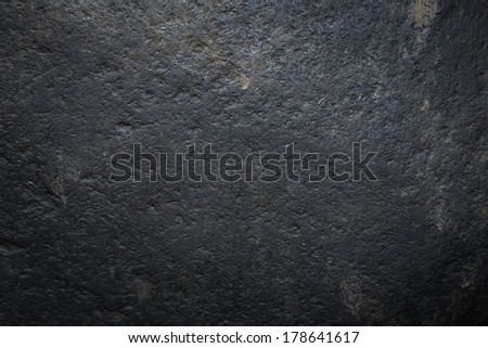 Dark grungy stone - stock photo
