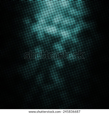 dark halftone texture, abstract background - stock photo