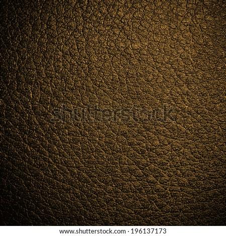 Dark leather background - stock photo