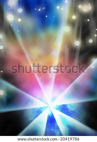 Dark light background - stock photo