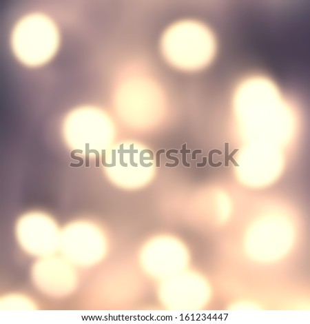 Dark Night Abstract de focused lights bokeh background with  glowing magic gold  bokeh. High Resolution. - stock photo