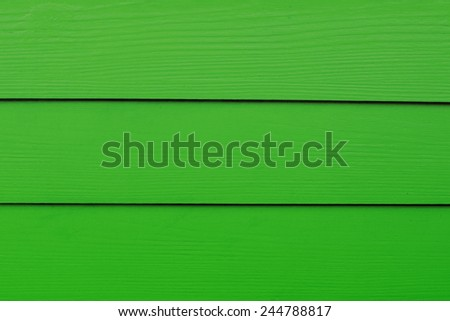 Dark Pastel Green Color Painted on Wooden Wall. (Shade of Green Series) - stock photo