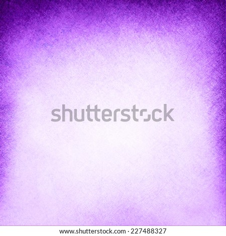 dark purple background textured border on white background, old faded vintage purple paper design, purple painted wall texture, studio backdrop - stock photo