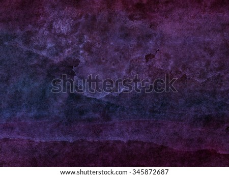 dark purple watercolor - stock photo
