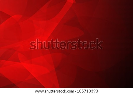 Dark red abstract curves background. - stock photo