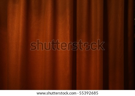dark red curtain background - stock photo