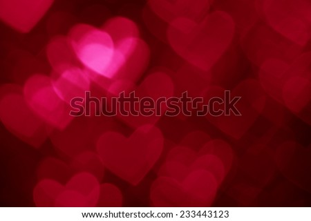 dark red heart shape holiday photo background - stock photo
